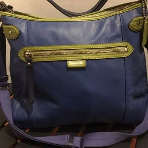 Coach Daisy Spectator Leather Convertible Bag